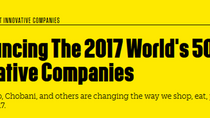 2017 World's 50 Most Innovative Companies
