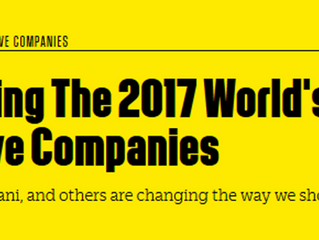 2017 World's 50 Most Innovative Companies