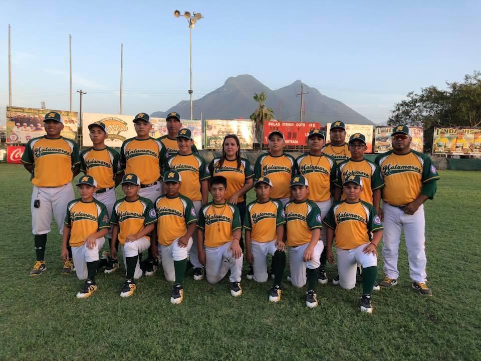 Serie Nacional Ligas Pequeñas - Liga Matamoros Jersey amarillo