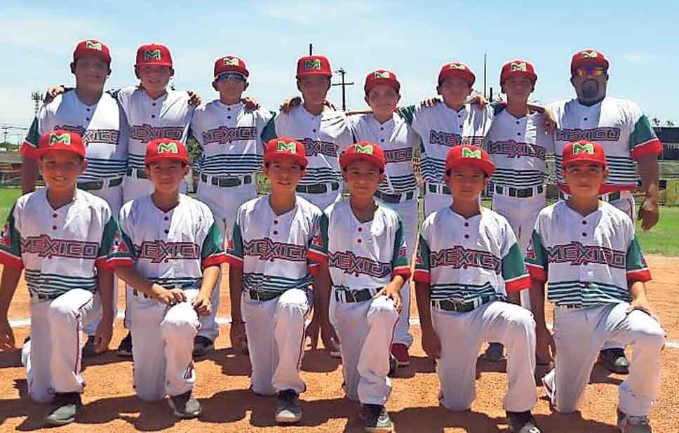 Liga Villahermosa de Ciudad Juarez rumbo al Mundial de Beisbol infantil Bronco de PONY League 2018