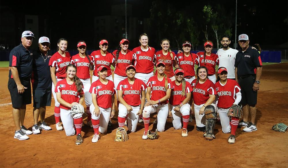 Mexico vs Puerto Rico softbol femenil - Juegos Centroamericanos Barranquilla 2018