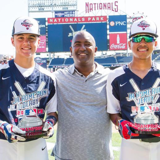 Estos Jóvenes Ganaron el Homerun Derby Junior de MLB 2018