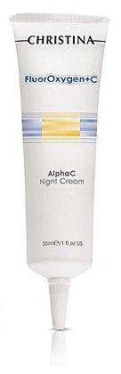 Christina Fluoroxygen+C Alpha C Night Cream 1 fl. oz (30 ml)