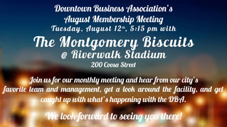 August Meeting Announced!