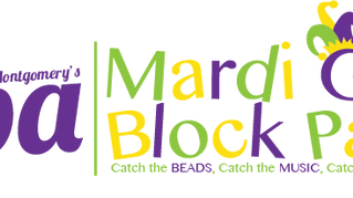 3rd Annual Mardi Gras Block Party