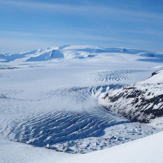 Öræfajökull af toppi Lyngbrekkutinds
