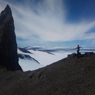 Þumall og Vatnajökull
