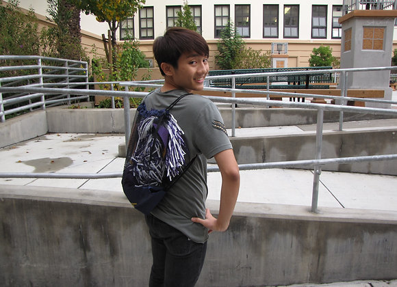 Galileo Drawstring Backpack