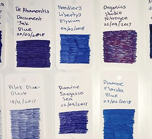 Fountain Pen Inks Col-o-ring