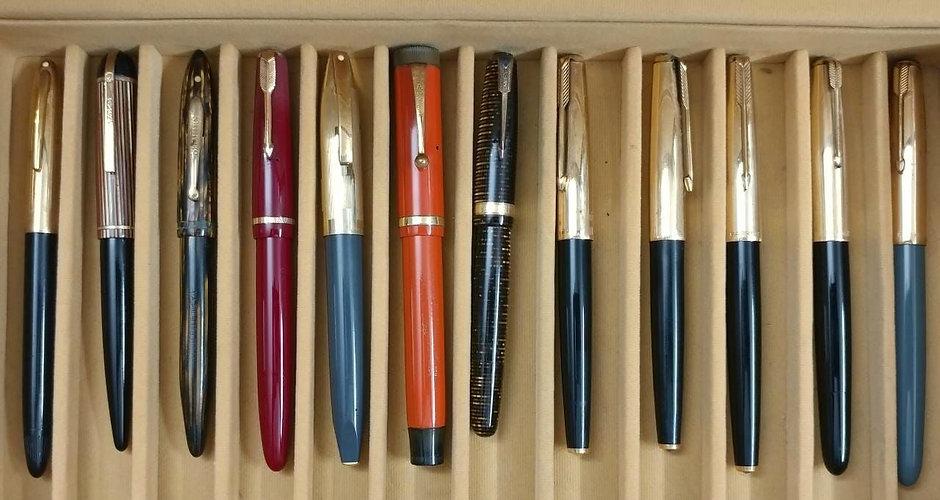 Vintage Pen Tray