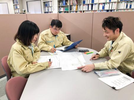 ポリテクセンターのカリキュラムを経て新入社員が入社しました。