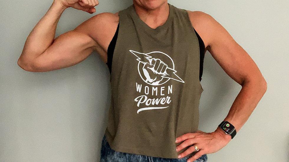 Women Power muscle tank vest