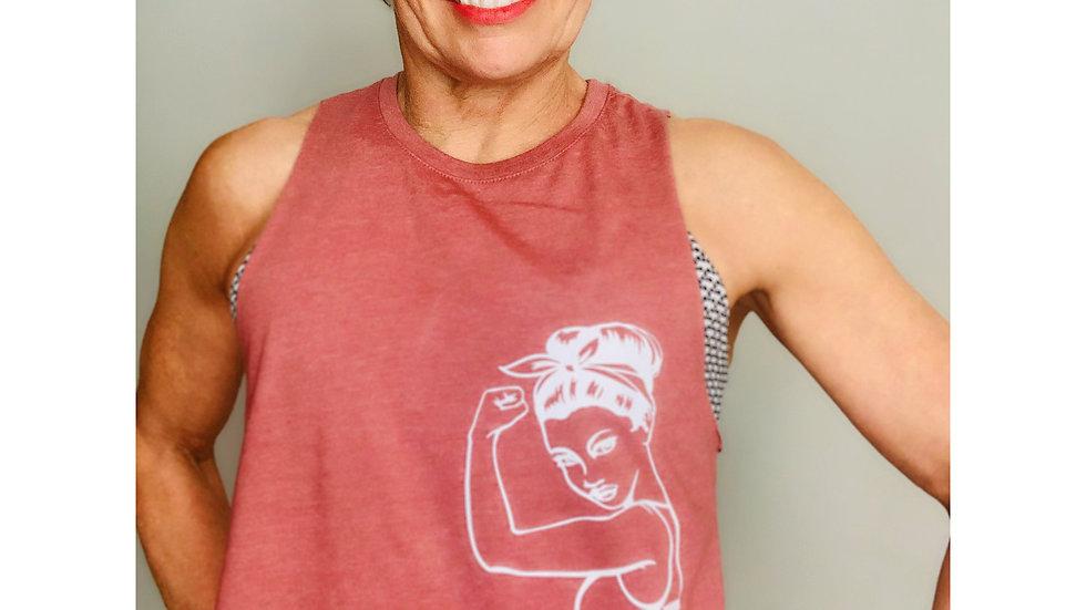 Betty muscle tank vest