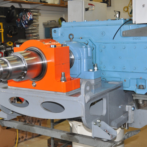 GFD shaft and bedplate