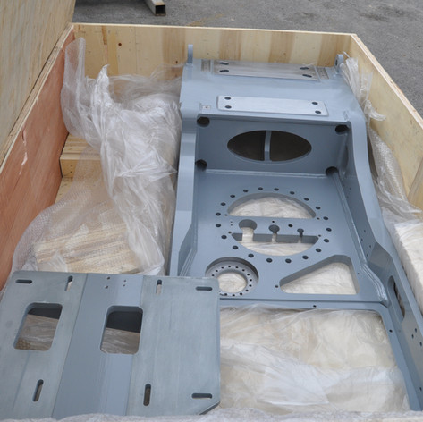 1st production bedplate