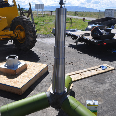 GFD shaft build