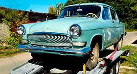 реставрация ретро автомобилей газ 23