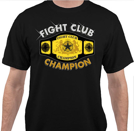 FIGHT CLUB CHAMPION T'SHIRT