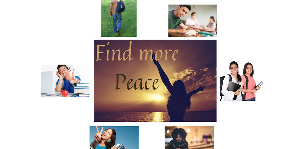 Mindful Based Stress Reduction for College Students  - Free Offering - Limited space