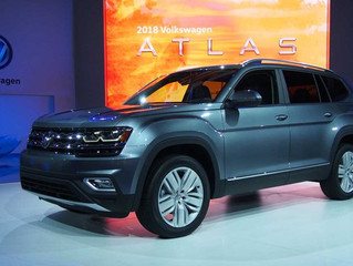VW Presenta el Atlas, Un Crossover Grande Para La Familia Americana