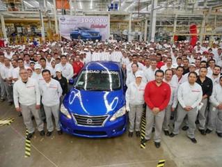 Nissan Aguascalientes Planta A2 celebra la producción de su unidad 300,000