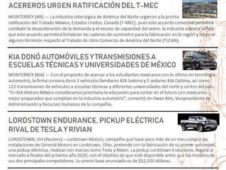 Una Vuelta al Mundo de la Industria Automotriz en 5 Minutos