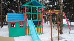Детская площадка на дачу