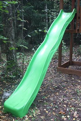 Стеклопластиковая горка с высоты 2 м
