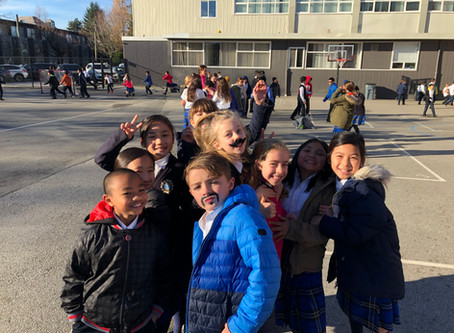 MOvember at St. Augustine School