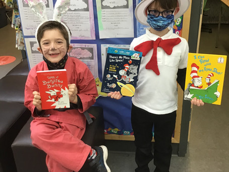 Family Literacy and Literacy Dress-up Day