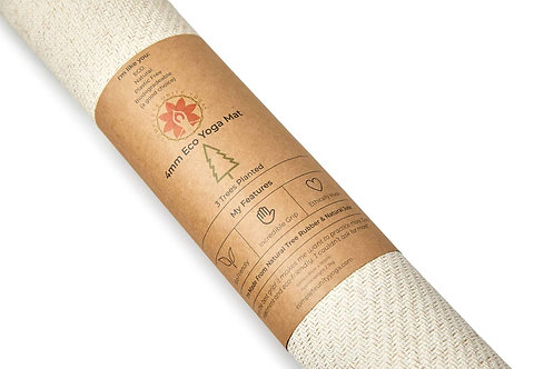 CompleteGrip™ Eco Friendly Yoga Mat Made from Natural Biodegradable Material