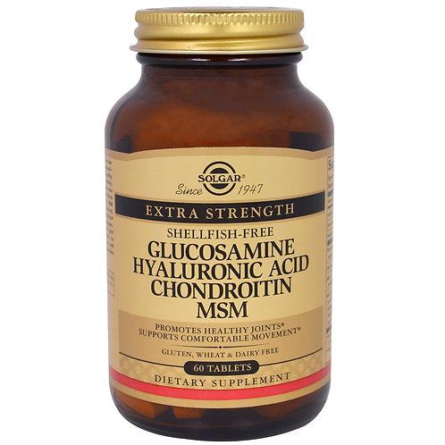 Solgar Extra Strength Glucosamine Chondroitin MSM 60's