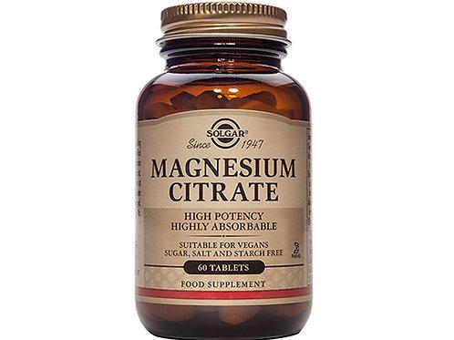 Solgar Magnesium Citrate 60's