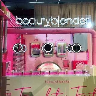 beautyblender Beautycon custom neon sign