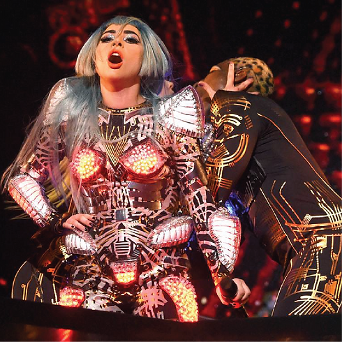 Lady Gaga Custom Heat Press Vinyl Costum