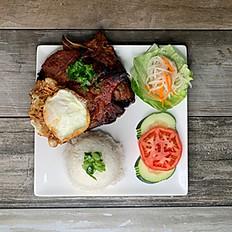 Pork Chop & Friend Egg