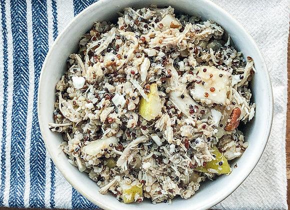 balsamic chicken quinoa salad