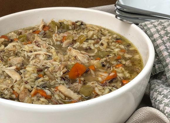 chicken and wild rice stew