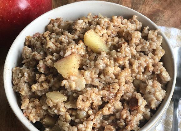 apple-cinnamon oats