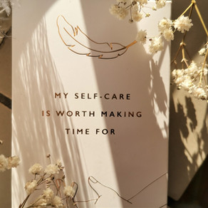 33 inspirational self-care cards worth making time for