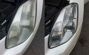 Let There Be Light Headlight Restoration Before and After