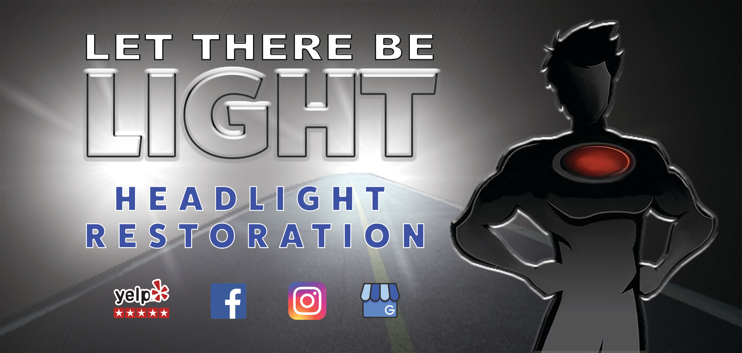 Let There Be Light Mobile Headlight Restoration Service