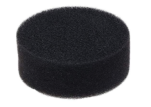 LTBL 3 inch Black Finishing Foam Hook and Loop Polishing Pad