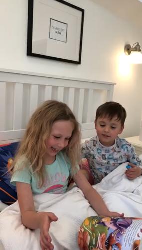 Anabella (7) & Charlie (4)