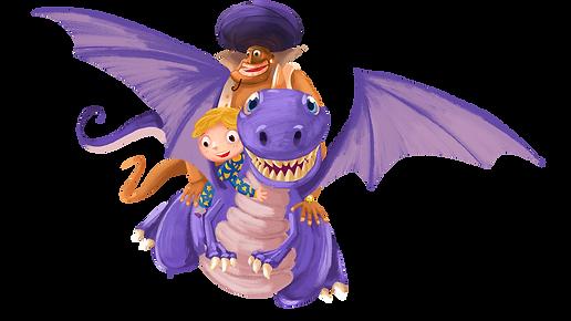 Boy, Genie, Dragon.png