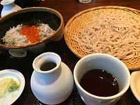 Japanese trditional soba of local