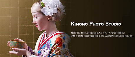 kimono expeience in Japan