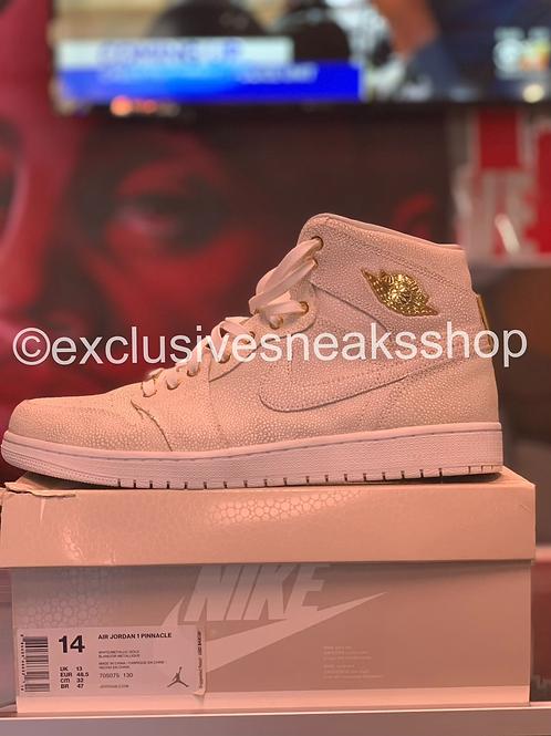 "Air Jordan 1 Retro ""Pinnacle White"""