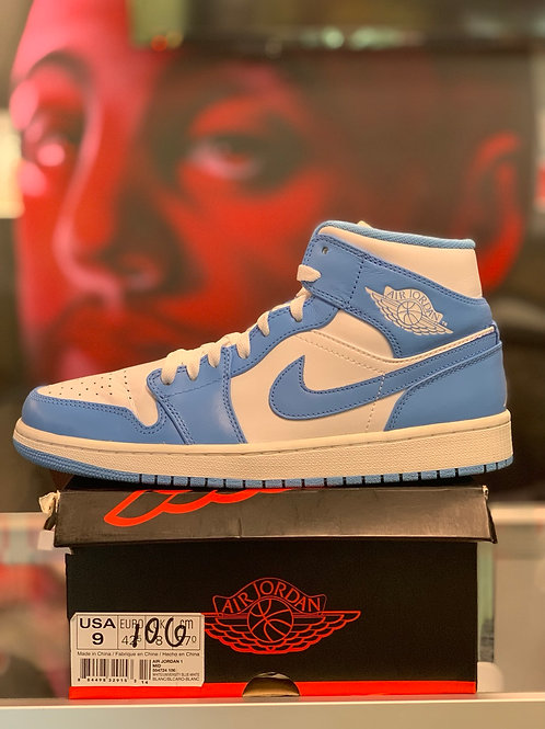 "Air Jordan 1 Retro Mid ""UNC"""