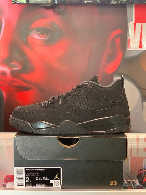 """Air Jordan 4 Retro """"Black Cat"""" (PS)"""